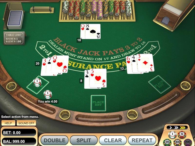 Blackjack Games Online
